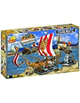 COBI Romans and Barbarians Galley, 750 Piece Set by COBI