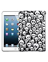 MyBat Smart Slim Back Protector Cover for iPad Mini, Screaming Ghosts (IPADMINIHPCBKIM949WP)