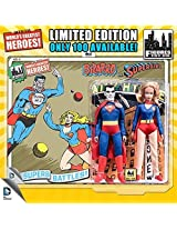 Dc Superheroes Series 4 Bizarro Vs Supergirl 2 Pack 8 Inch Figures Limited Edition