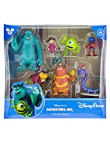 Disney Parks Monsters Inc. Collectible Figurine Playset Play Set Cake Topper NEW 2014