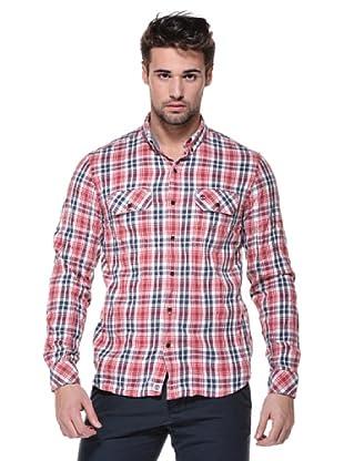 Timberland Camisa Thompson (Rojo/Azul)