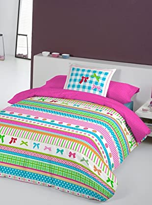 Lief Funda Nórdica Lazos Cenefa (multicolor)