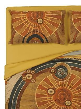 Gattinoni Completo Copripiumino Planetario Anita (giallo)