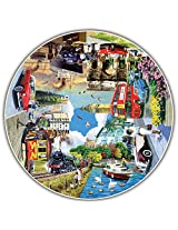 Round Table Puzzle - Vintage Worldwide (500 Piece)