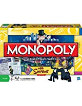 Monopoly The Simpsons Edition By Parker Brothers