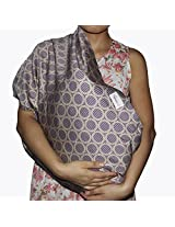 abcGoodefg Cotton Baby Toddler Sling Carrier Wrap Pouch NEW (Brown Pattern)