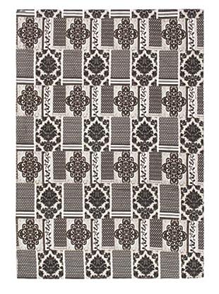 grafik teppiche schwarz wei grau mode trends. Black Bedroom Furniture Sets. Home Design Ideas