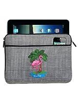 FLAMINGO IPAD SLEEVE Pink Flamingos Tablet Case STYLISH PLAID