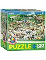 EuroGraphics Dinosaurs Jigsaw Puzzle (100-Piece)