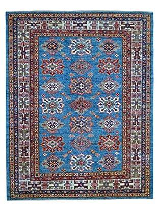 Kalaty One-of-a-Kind Kazak Rug, Blue, 4' 11