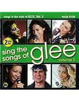 Sing The Songs of Glee, Vol. 2 - Karaoke CD
