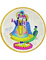 LGW Goddess Radha Lord Krishna Silver Precious Coin for Unisex (20Grams)