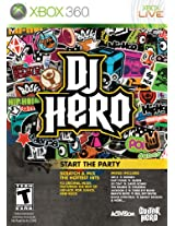 DJ Hero Stand Alone Software (Xbox 360)
