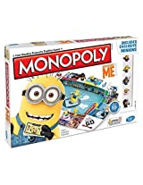 Mischievous Monopoly Game With Minion Figurines