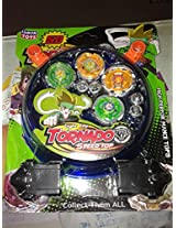 5D Wild Top Stadium BeyBlade Super Rotary Top(4 Beyblades)