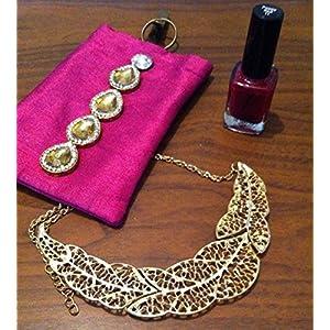 Cupkin Accessories A Leaf Filigree Neckpiece Necklace
