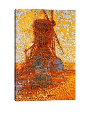 Piet Mondrian's Mill in Sunlight (1908) Giclée Canvas Print