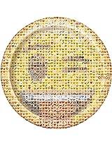 Unique Emoji Dinner Plates (8 Count)