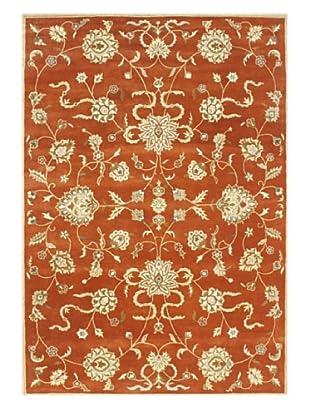 Alliyah Rugs New Zealand Wool Rug (Rusty Orange/Gold)