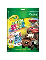 1KOB9045 Crayola Mess Free Color Wonder Disney Pixar Cars 2 Markers and Coloring Pad