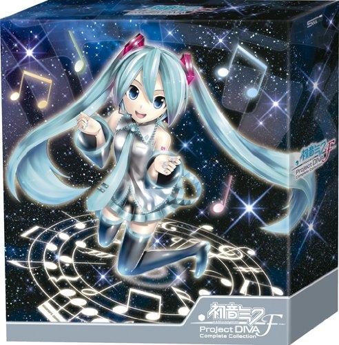 初音ミク-Project DIVA-F Complete Collection(初回生産限定盤)(Blu-ray Disc付) [CD+Blu-ray, Limited Edition]