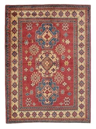 Rug Republic One Of A Kind Pakistani Kazak Rug, Red/Blue/Antique Ivory/Multi, 3' 8