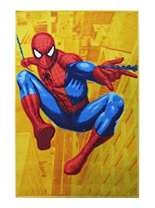 ABC Alfombra Spiderman (Amarillo)