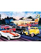 MasterPieces - Bruce Kaiser - Cruisin / Hot Rod's Drive In - Jigsaw Puzzle - 1000 Pc