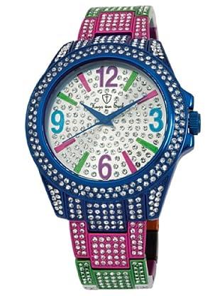 Hugo Von Eyck Reloj Amazing HE118-013B_Plata / Azul