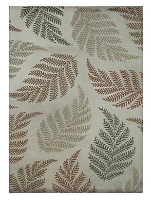 Mili Designs NYC Ferns Rug, 5' x 8'