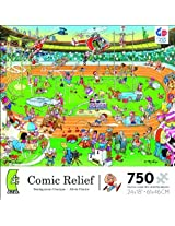 Comic Relief Olympics 750 Piece Jigsaw Puzzle By Ceaco