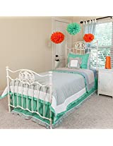 Pam Grace Creations Striking Twin Bedding Set