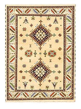 Hand-Knotted Royal Kazak Rug, Light Gold, 5' 9