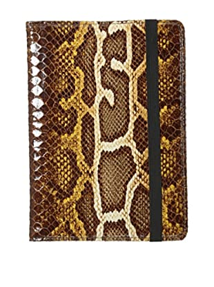 Graphic Image Women's E Reader, Brown Python