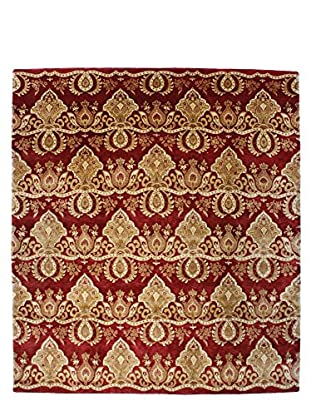 F.J. Kashanian One-of-a-Kind Hand-Knotted Sima Rug, Red/Red, 8' 6