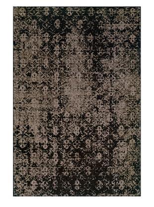 Granville Rugs Vintage Rug (Grey/Black/Brown)