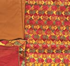 Multi-Color Phulkari Salwar Kameez Fabric From Punjab with Ari Embroidery - Pure Cotton