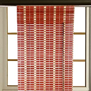 Mesmerize Red - Window Curtain