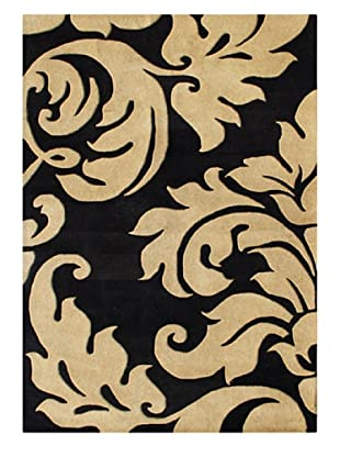 Alliyah Rugs Alliyah Collection (Brown/Black)