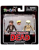 Diamond Select Toys The Walking Dead Minimates Series 7: Chris & Holly Action Figure (2 Pack)