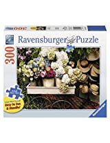 Ravensburger Flowers and Hats Large Format Jigsaw Puzzle (300-Piece)