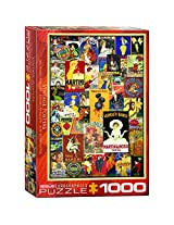 EuroGraphics Vintage Posters Jigsaw Puzzle (1000 Piece)