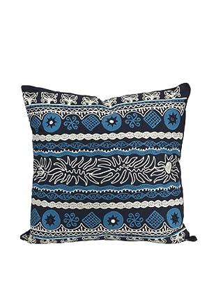 Sumir Decorative Blue Pillow