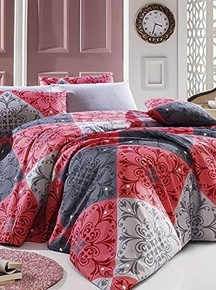 Colors Couture Bettdecke und Kissenbezug Destan