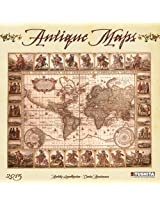 Antique Maps 2015 (Media Illustration)