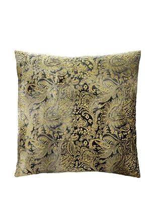 Aviva Stanoff Boho Velvet Pillow, Anthracite