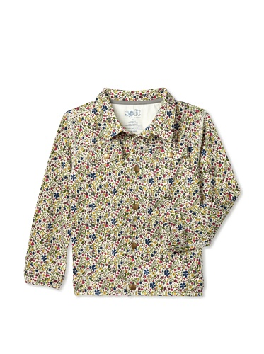 Soft Clothing Kid's Kibwe Jacket (Floral)