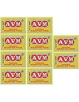 AVM Compounded Asafoetida Cake, 50 grams (Pack of 10)