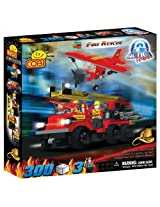 COBI Action Town Fire Rescue, 300 Piece Set