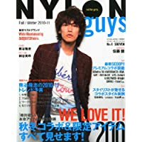 NYLON guys JAPAN 2010年Vol.4 小さい表紙画像